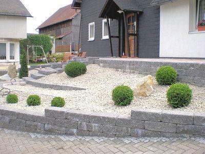 gartengestaltung bilder vorgarten – controng, Gartenarbeit ideen